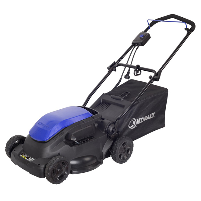 Kobalt Electric Lawnmower 10 A 16 In Blue And Black 2501703 Rona