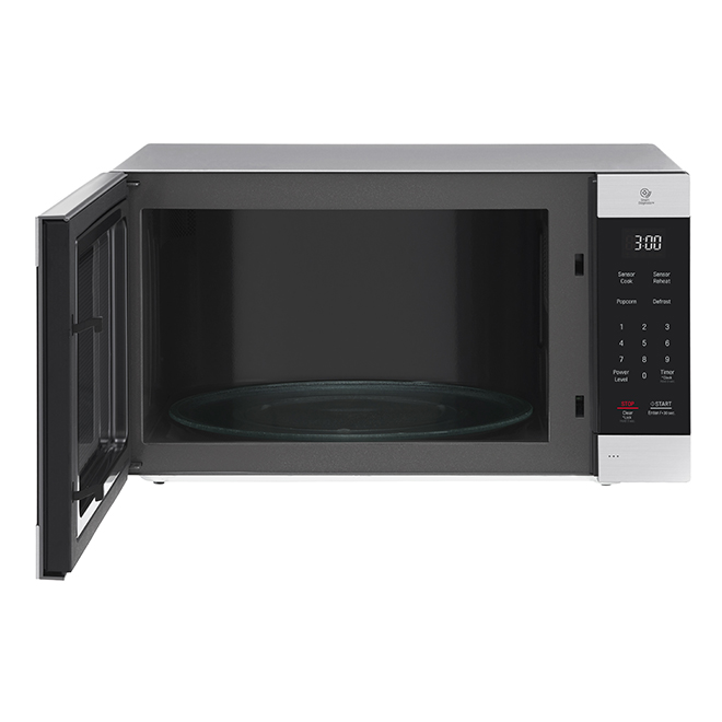 counter top microwave oven 2 cu ft 1200 w stainless