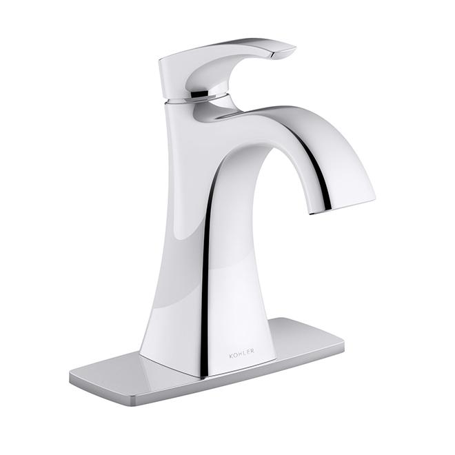 maxton bathroom faucet 1 handle polished chrome