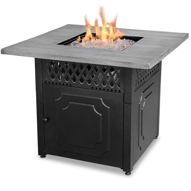 outdoor fireplace propane gas 38 in 30 000 btu