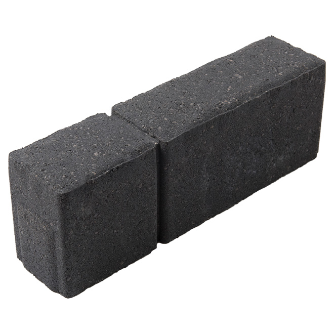 bordure de beton 4 x 12 charbon