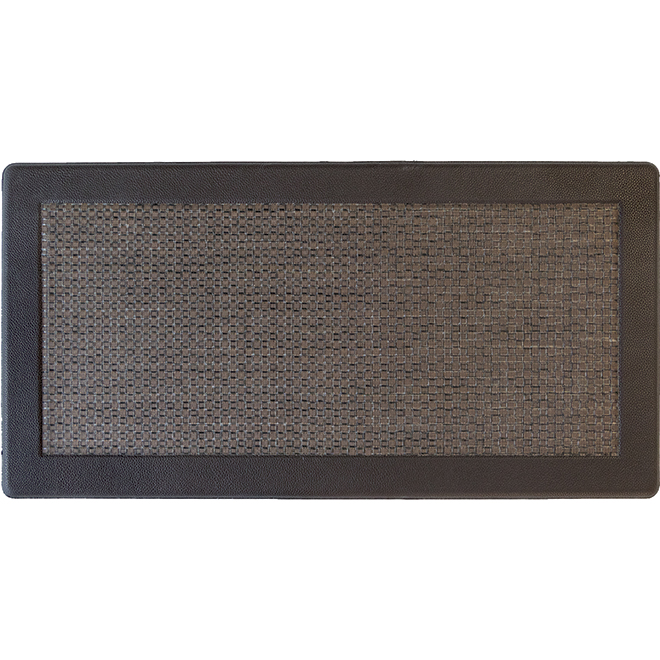 tapis anti fatigue interieur exterieur studio textaline 19 po x 35 po noir