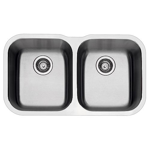 kitchen drain extra deep sink blanco essential undermount double 400008 rona