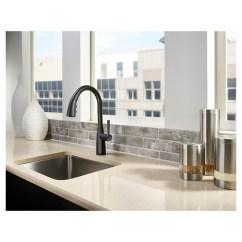 Black Faucet Kitchen Modern Pulls Pfister Raya Pull Out 3 Spray F5297ryb Rona