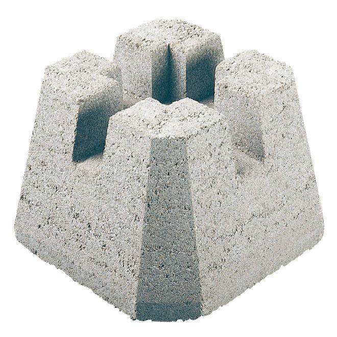 dek block concrete deck base
