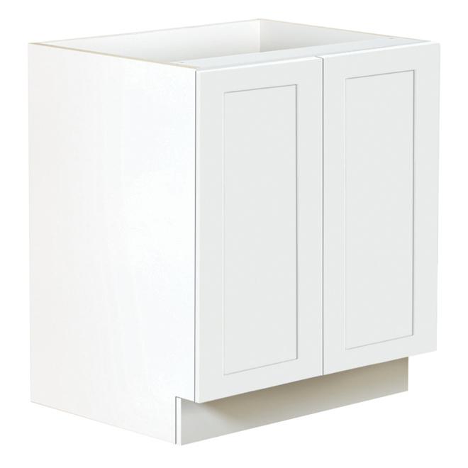 kitchen cabinet door small islands on wheels ebsu san diego 2 30 white tlb30 blsd rona