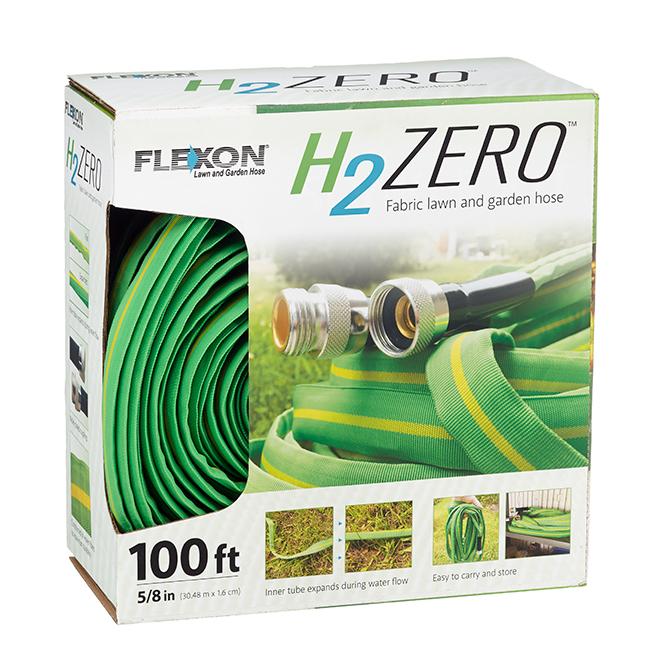 FLEXON Boyau d'arrosage flexible pour jardin. vinyle/nylon. 100' HZ100AI | RONA