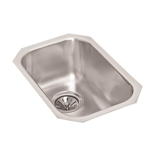 wessan stainless steel undermount sink 18 in x 12 in 8 in