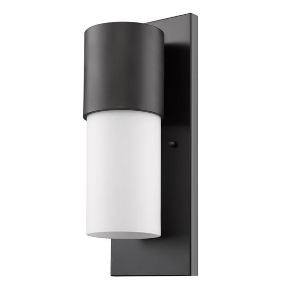 acclaim lighting cooper 16 in bronze outdoor wall light