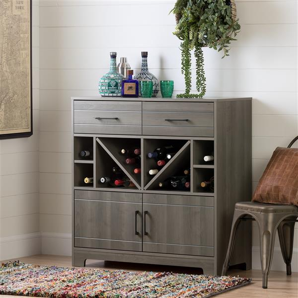 meuble bar avec rangement vietti