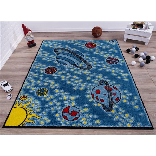 https www rona ca fr la dole rugs tapis pour enfants 6 2 x 9 2 polypropylene bleu jaune fkds10483 330677361