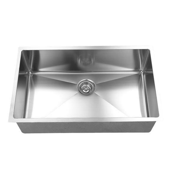 elegant stainless farmhouse apron kitchen sink 28 in stainless steel