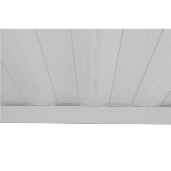 arrow steel carport and patio cover 10 x 20 off white