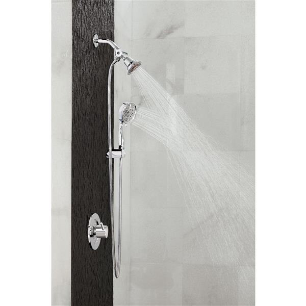 moen align posi temp r tub shower chrome valve sold separately