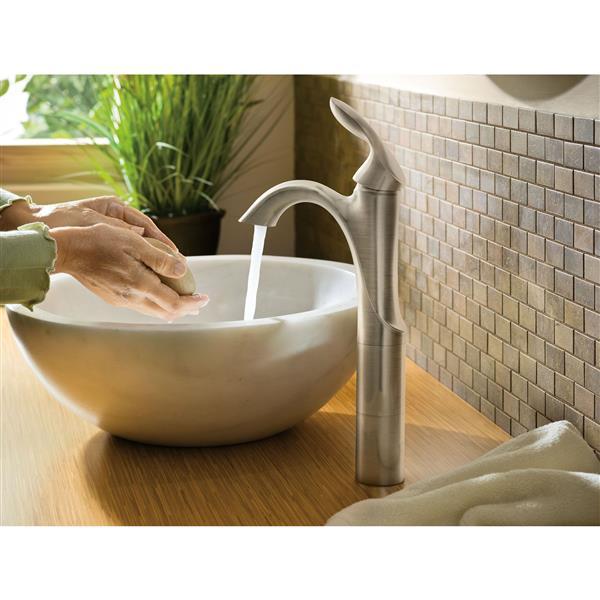 moen eva bathroom faucet 1 handle chrome