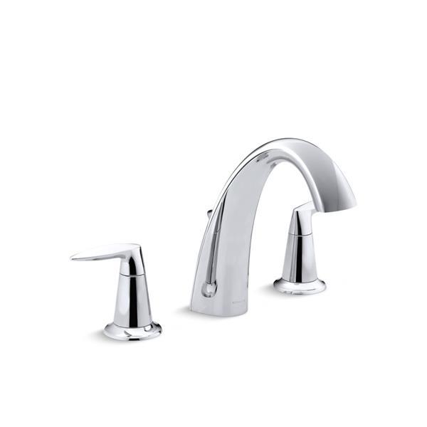 kohler alteo bathtub faucet with diverter polished chrome