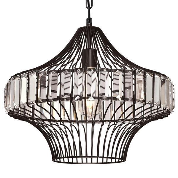 westinghouse lighting canada crystal prism chandelier 1 light matte black