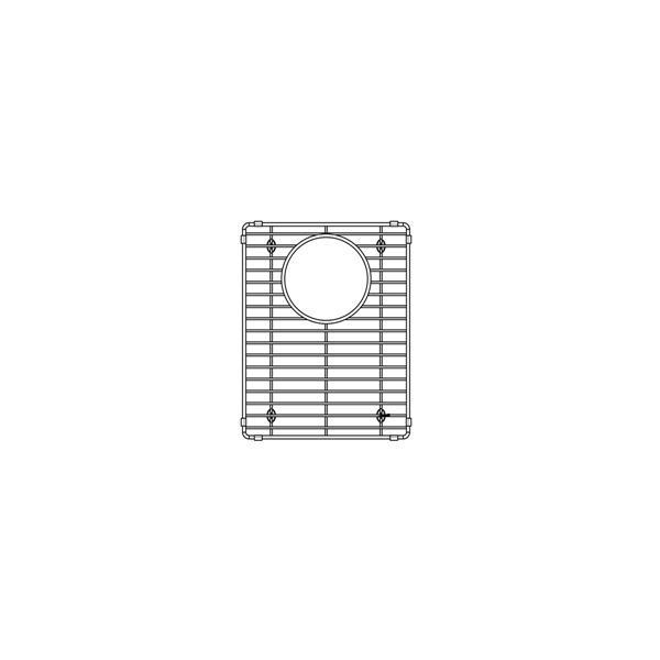 blanco ikon sink grid stainless steel