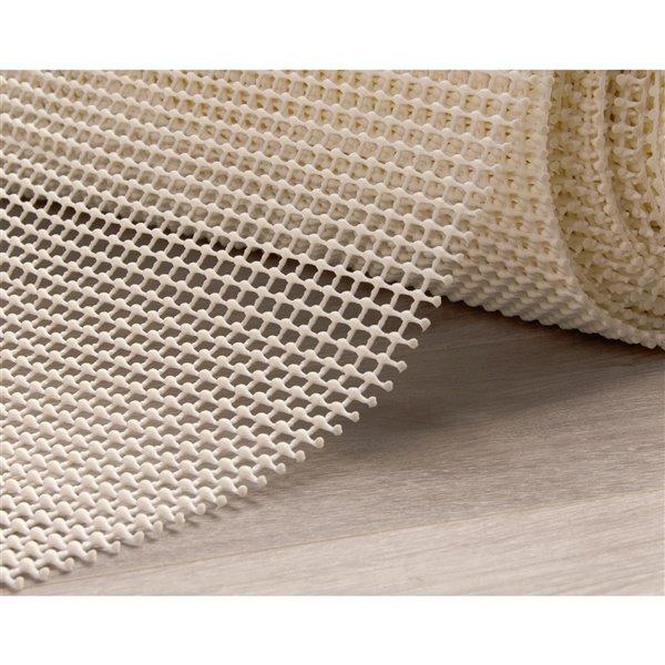 tapis de protection antiderapant supreme de rug branch 0 20 2 pi x 10 pi