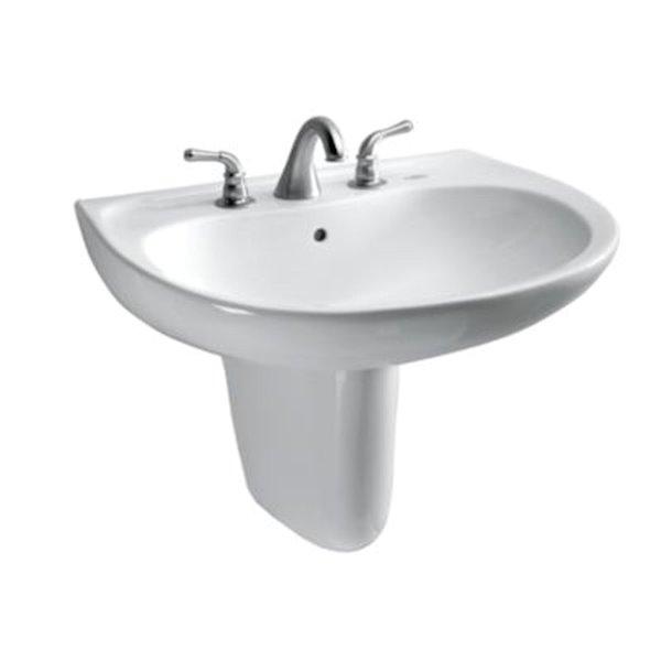 toto shroud for bathroom sink cotton white