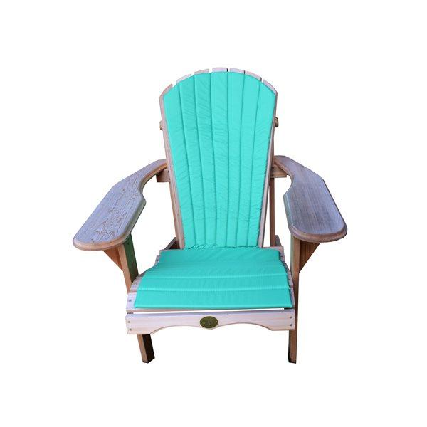 coussin de chaise exterieur exterieur bear vert