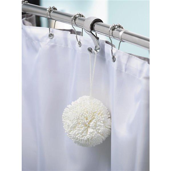 moen shower curtain rings 12 pack chrome