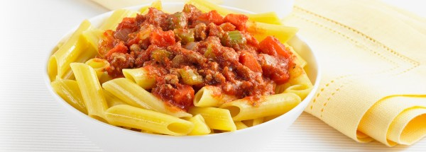 Ronzoni Penne with Turkey Bolognese The Pasta That