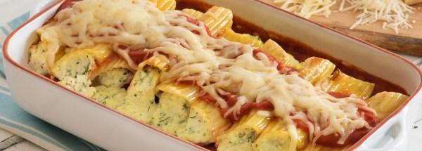 Ronzoni Baked Manicotti with Three Cheeses The Pasta