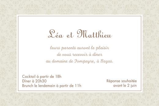 carton d invitation mariage nous deux