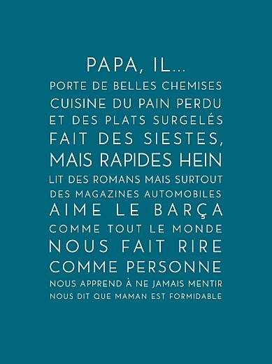 Date Fete Des Pere 2016 : Affichette, Justifié, Fête, Pères, Rosemood