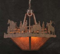 Copper Canyon CL838 Western Chandelier