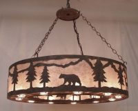 Copper Canyon PEG290 Rustic Chandelier - Rustic Lighting ...