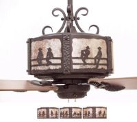 Copper Canyon Craftsman Western Ceiling Fan - Rustic ...