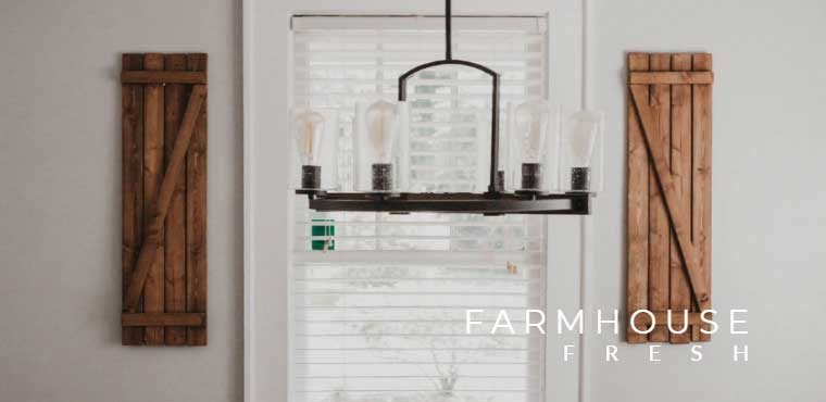 country living lighting rustic
