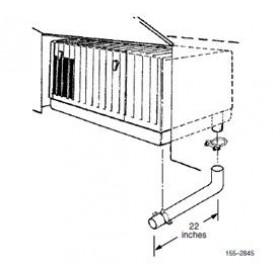 Cummins Onan MicroQuite Generator, Exhaust Tube Kit 155