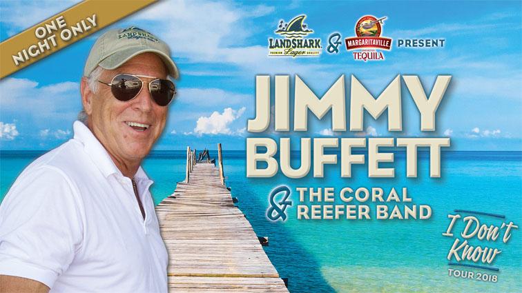 Jimmy Buffett Tour Dates