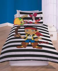 Jake and the Neverland Pirates Bedroom set duvet bed Quilt