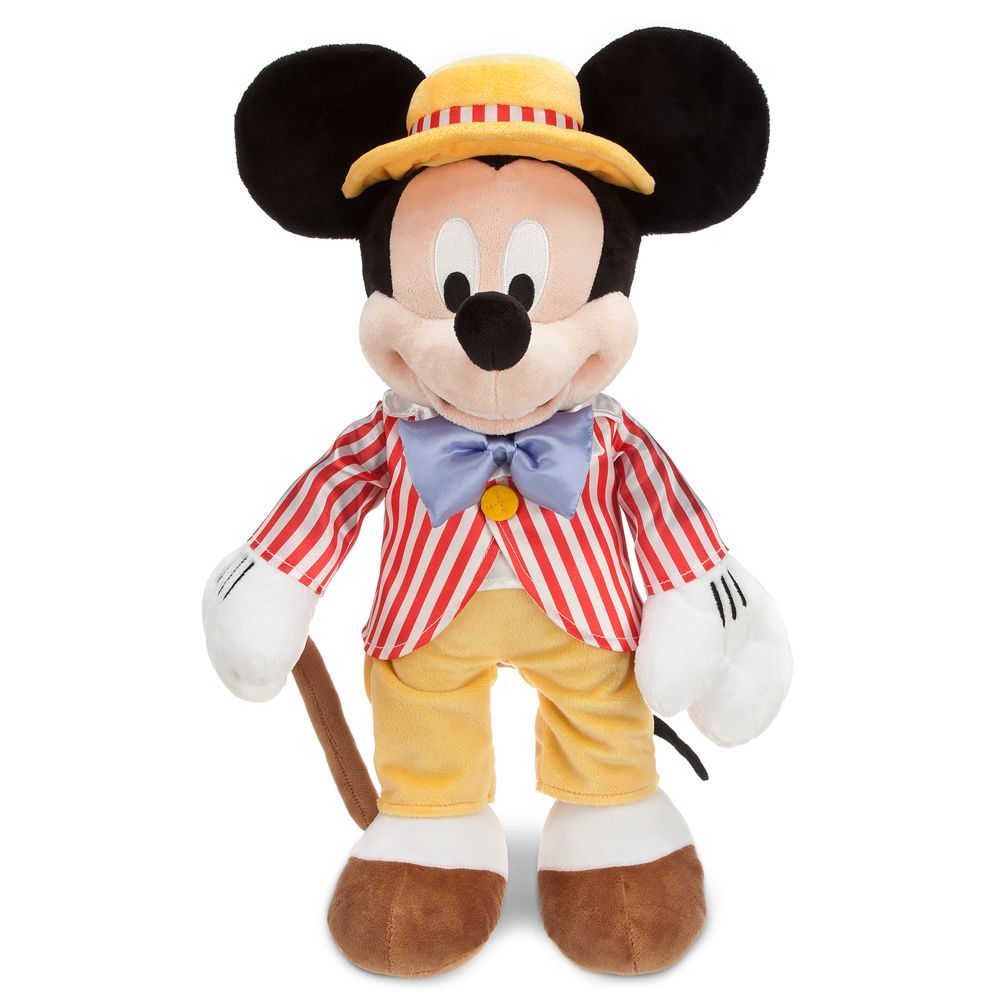 New Nwt Disney Store Plush Mickey Mouse Fun With Music Day