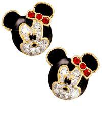 Minnie Mouse Earrings by Arribas | Earrings | Disney Store