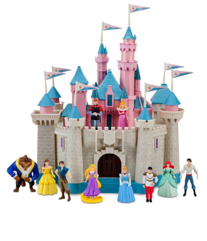 NIB Disney Princess Sleeping Beauty Castle Play Set 10