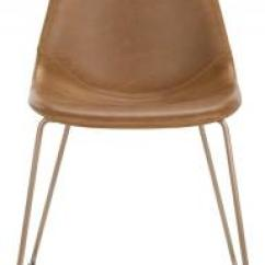 Safavieh Dining Chairs Chair Cover Rental Sioux City Com Dorian Midcentury Modern Leather Item Ach7003b Set2 Color Light Brown Copper