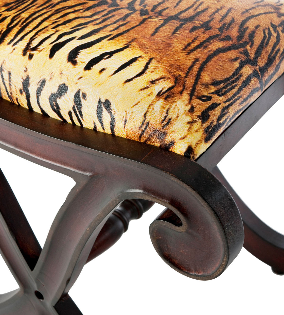 tiger print chair john lewis cushion covers amh4039a vanity stools furniture by safavieh