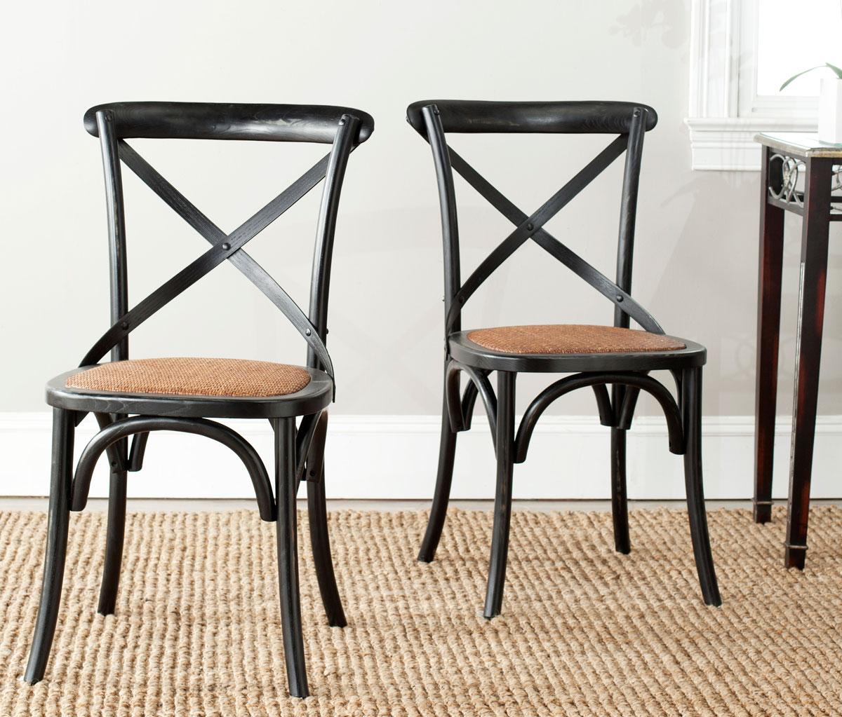 safavieh sinclair ring side chair best potty for tall boy amh9500b set2 dining chairs furniture by