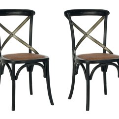 Safavieh Dining Chairs College Lounge Chair Amh9501b Set2 Furniture By