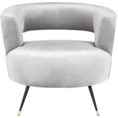 Grey Club Chair Child Size Rocking Accent Chairs Armchairs Side Safavieh Com Manet Velvet Retro Mid Century Item Fox6272b Color Light