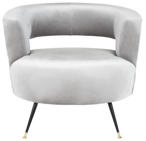 white club chairs baby chair for eating accent armchairs side safavieh com manet velvet retro mid century item fox6272b color light grey