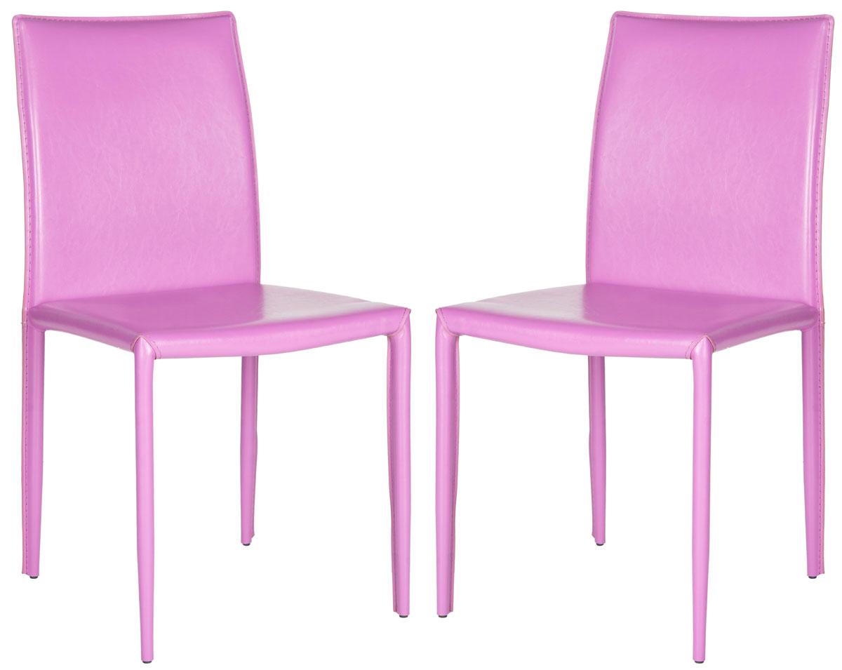 safavieh karna dining chair beach chairs for kids fox2009j set2 furniture by