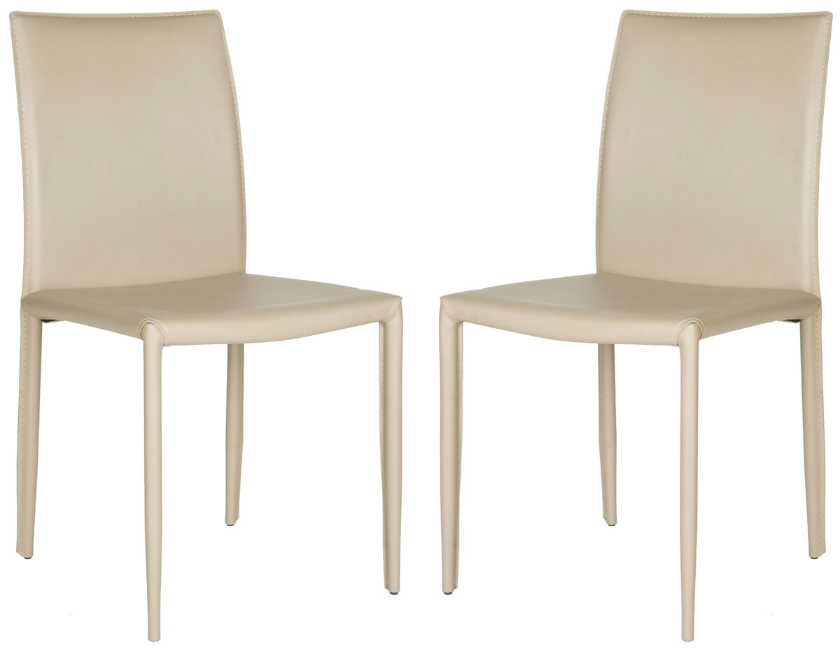 safavieh karna dining chair 8 table dimensions fox2009m set2 chairs furniture by