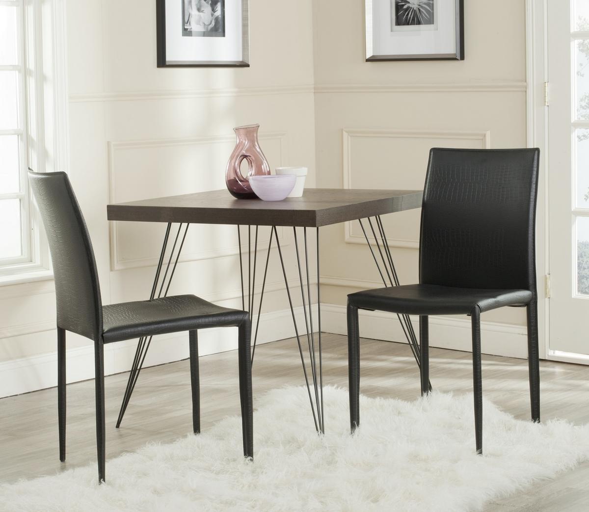safavieh karna dining chair poly wood chairs fox2009n set2 furniture by