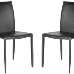 Safavieh Karna Dining Chair X Rocker Pulse Gaming Fox2009n Set2 Chairs Furniture By